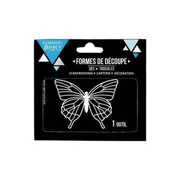 Happymade - Florilèges Design - Die - Grand Papillon (FDD11705)