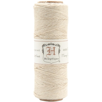 Happymade - Hemptique - Hemp Cord (hampsnøre) - Natur (#10)