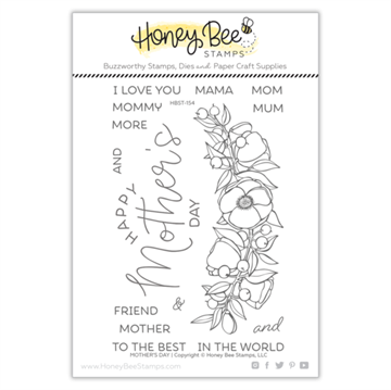 Happymade - Honey Bee Stamps - Stamp - Mothers Day