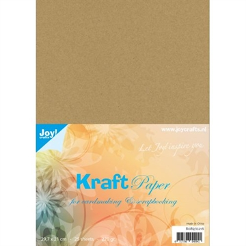 Happymade - Joy! Kraft Paper - A4 (Pakn. m/25 ark) - 8089/0216
