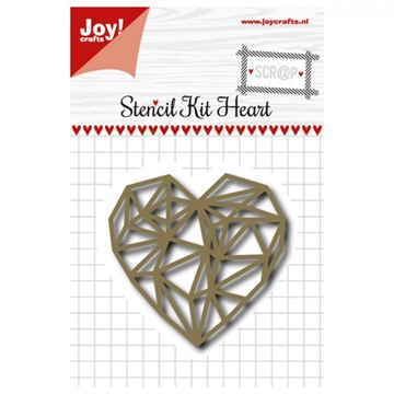 Joy - Die - Stencil Kit Heart (6002/0991)
