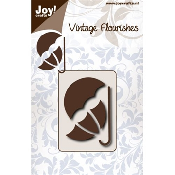 Happymade - Joy - Vintage Flourishes - Umbrella - die - 6003/0084