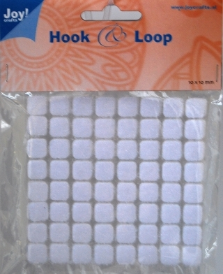 Happymade - Joy - Hook & Loop (velcro lukninger) - 10x10mm