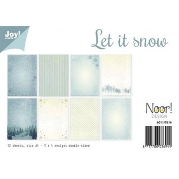Joy! A4 Papers - Let it snow