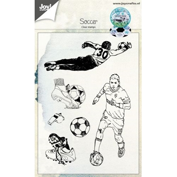 Happymade - Joy Clear Stamp - Soccer (6410/0447)