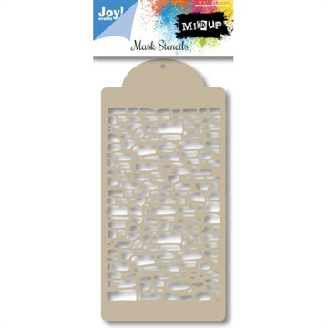 Joy Clear Mask Stencil - Bricks