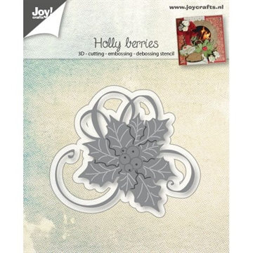 Joy - Die - Holly berries (6002/0944)