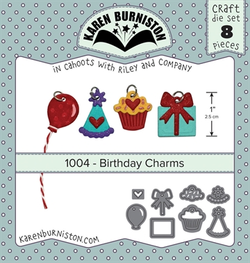 Happymade - Karen Burniston - Die - Birthday Charms (1004)