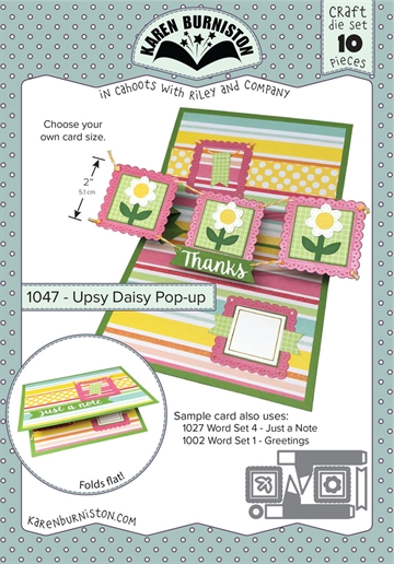 Happymade - Karen Burniston - Die - Upsy Daisy Pop-up (1047)