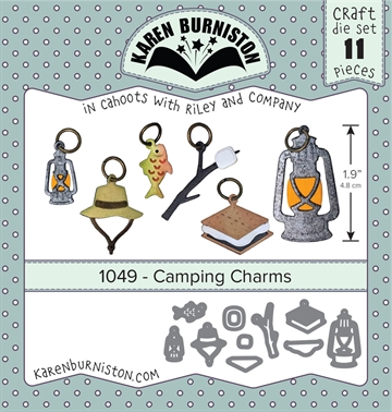 Happymade - Karen Burniston - Die - Camping Charms (1049)