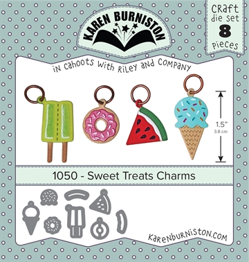 Happymade - Karen Burniston - Die - Sweet Treats Charms (1050)