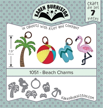 Happymade - Karen Burniston - Die - Beach Charms (1051)