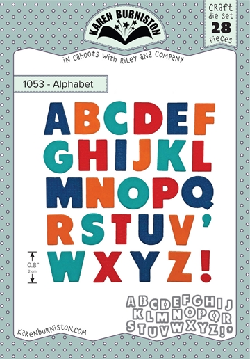 Happymade - Karen Burniston - Die - Alphabet (1053)