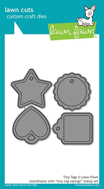 Lawn Fawn die set - Tiny tags