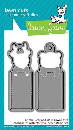 Lawn Fawn die set - For you, Deer Add-on