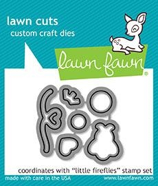 Happymade - Lawn Fawn die set - Little Fireflies