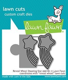 Happymade - Lawn Fawn die - Reveal Wheel Shooting Star Add-On (LF1792)