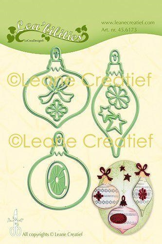 Happymade - Leane Creatief - Die - Christmas Ornaments (45.6173)
