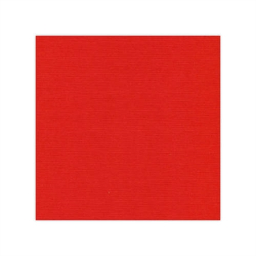 "Happymade - Linnen karton - 12x12"" - Christmas Red (582034)"