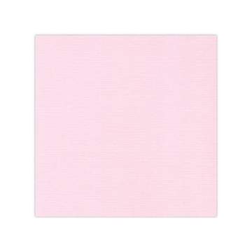 "Happymade - Linnen karton - 12x12"" - Light Pink (582015)"