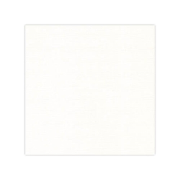 "Happymade - Linnen karton - 12x12"" - Off White (582032)"