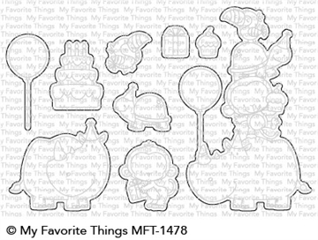 Happymade - My Favorite Things die - Birth-Yay (MFT-1478)