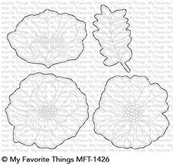Happymade - My Favorite Things die - Brilliant Blooms (MFT-1426)