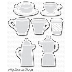 Happymade - My Favorite Things die set - Coffee Date (MFT-1176)