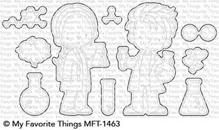 Happymade - My Favorite Things die - Cute Chemists (MFT-1463)