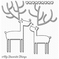 Happymade - My Favorite Things die set - Deer Love (MFT-1214)
