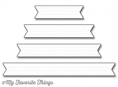 My Favorite Things Essential fishtail sentiment strips