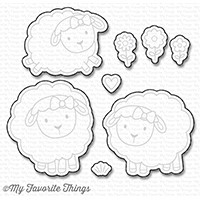 Happymade - My Favorite Things die set - Ewe and Me Forever (MFT-1235)