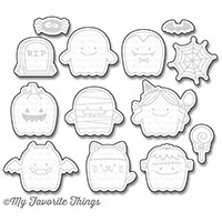 Happymade - My Favorite Things die set - Fab-BOO-Lous (MFT-1158)