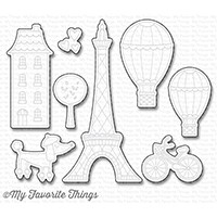 Happymade - My Favorite Things die set - In Paris (MFT-1250)