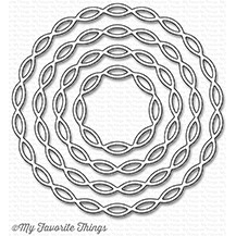 Happymade - My Favorite Things die set - Linked Chain Circle Frames (MFT-1210)