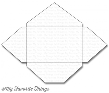 My Favorite Things Gift Card Envelope