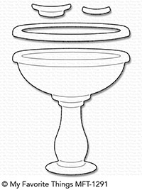 Happymade - My Favorite Things die set - Birdbath (MFT-1291)