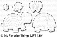 Happymade - My Favorite Things die - Too-Cute Turtles (MFT-1304)