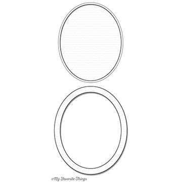 My Favorite Things Oval Shaker Window & Frame