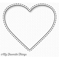 Happymade - My Favorite Things die - Stitched Peek-a-boo Heart (MFT-1230)