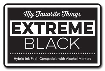 Happymade - My Favorite Things - Hybrid Ink Pad - Extreme Black - HPAD-81