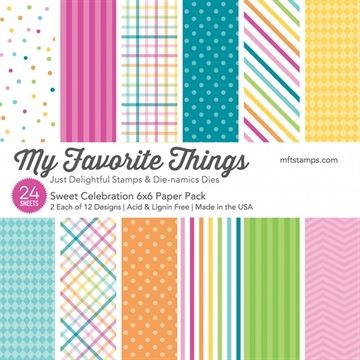 My Favorite Things Paper Pack - Sweet Celebration