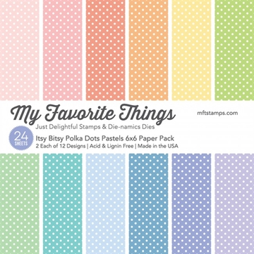 My Favorite Things Paper Pack - Itsy Bitsy Polka Dots Pastels