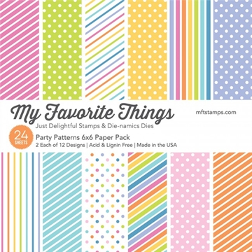 My Favorite Things Paper Pack - Party Patterns