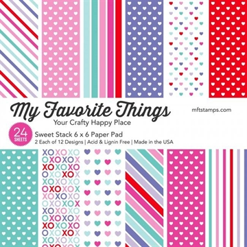 "Happymade - My Favorite Things Paper Pack - 6x6"" - Sweet Stack (EP-58)"