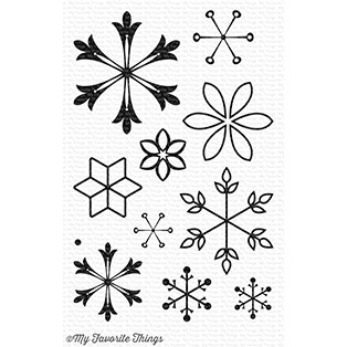 Happymade - My Favorite Things clear stamp set - Snowflake Splendor (CS-235)