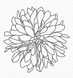 Happymade - My Favorite Things clear stamp - Beautiful Bloom (CS-329)