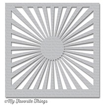 Happymade - My Favorite Things stencil - Radiating Rays (ST-98)