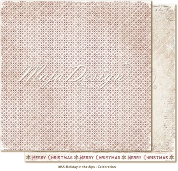 "Happymade - Maja Design - 12x12"" - Holiday in the Alps - Celebration - 1055"