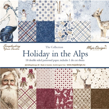 "Happymade - Maja Design - 12x12"" Paper Pack - Holiday in the Alps - Entire Collection - 1040"
